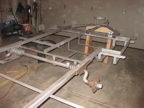 Photo: Frame back from sandblaster thanks to New Hudson Master Blaster for removing years of rust.