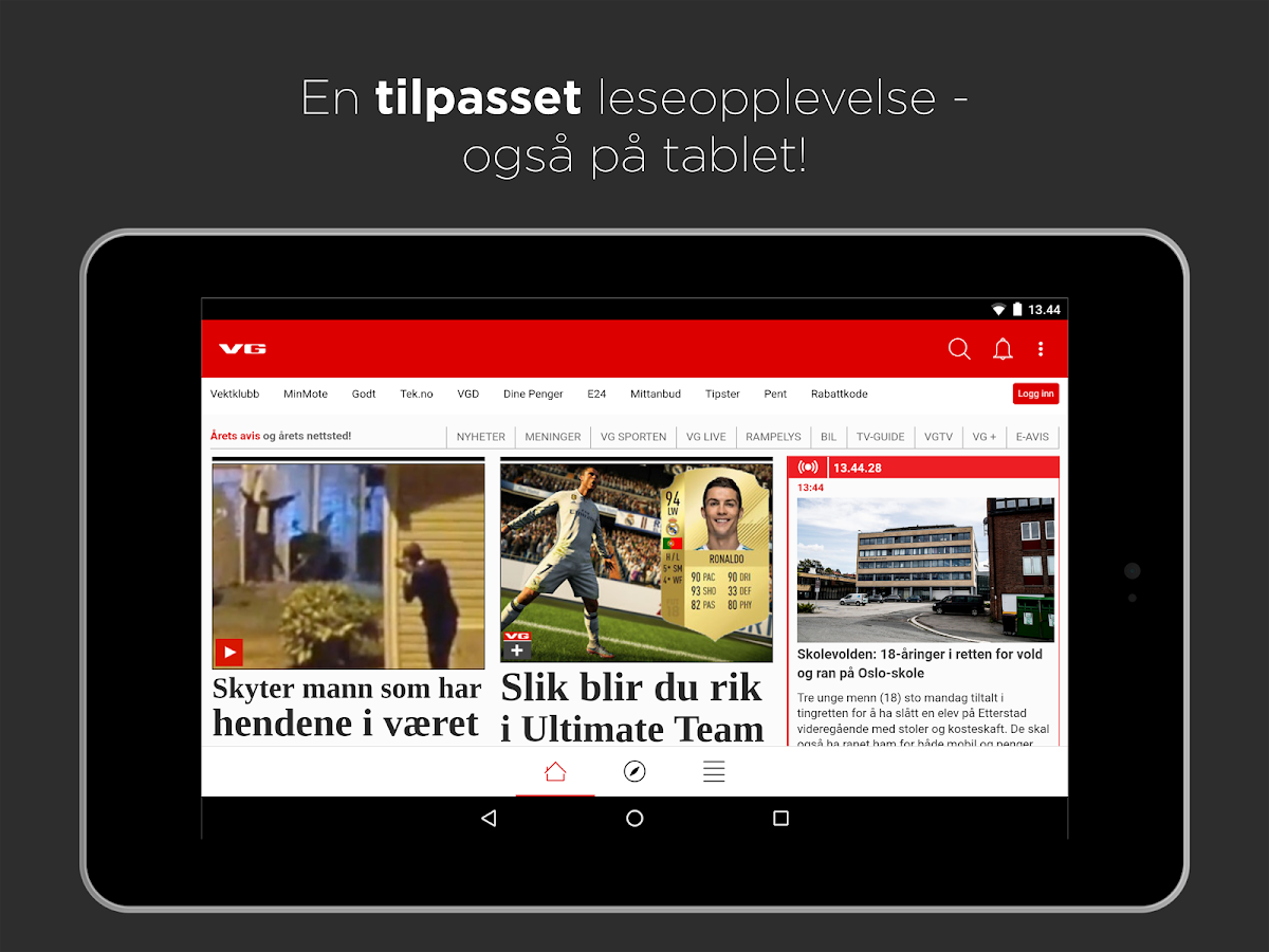 vg app til android Larvik