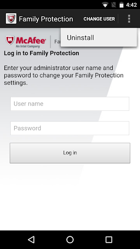 McAfee Family Protection screenshot 4