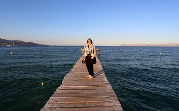 Photo: Ulos merelle, vaikka sitten vaan pitkällä laiturilla!