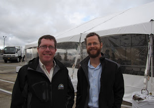 Photo: Mike Bowman and Nathan Broom are part of the RVTD team committed to a cleaner-burning, domestic fuel.