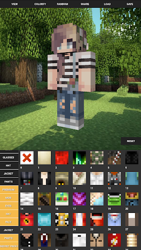 Custom Skin Creator For Minecraft 5.6 screenshots 1