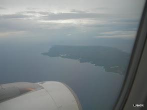 Photo: Comienza a verse la Isla de Curazao