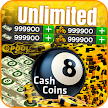 Coins and Cash for 8 ball Pool Prank APK