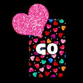 GO KB SKIN - Love Hearts 3