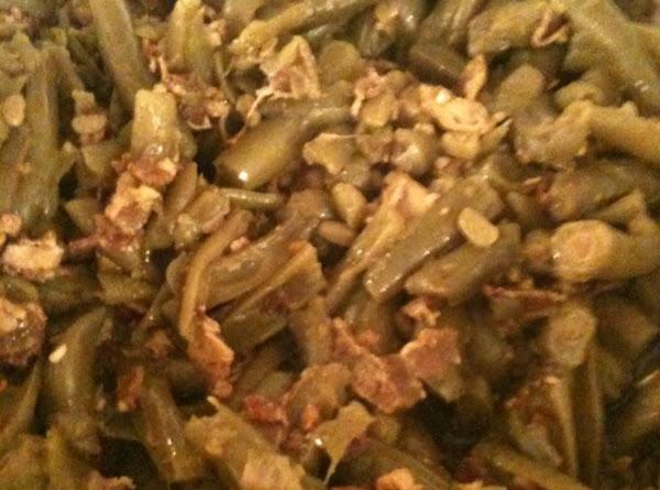 Crockpot Green Beans Recipe
