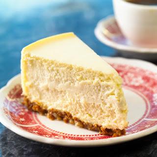 Gluten Free Eggnog Cheesecake