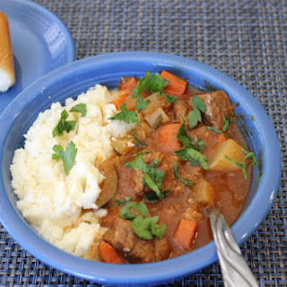 Beef Stew & Potatoes