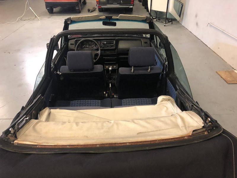 VW Golf MK1 Cabrio - 1986