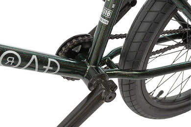 "Radio 2019 Comrad 20"" Complete BMX Bike 21"" Top Tube Green Flake alternate image 0"