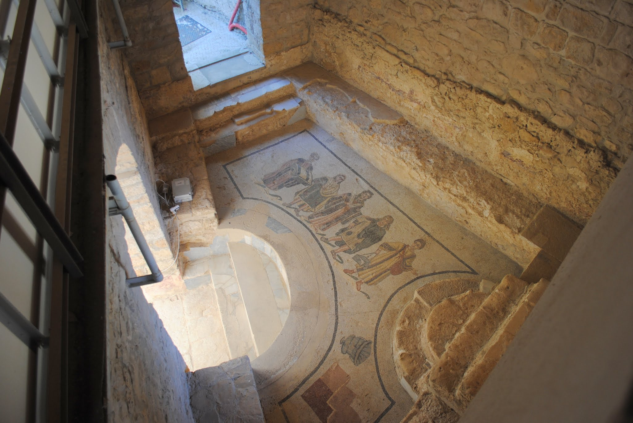 My Photos: Italy -- Mosaics -- Sicily -- Piazza Armerina -- Trapezoidal Vestibule
