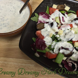Creamy Dreamy Herb Dressing