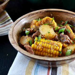 Sancocho (Puerto Rican Beef Stew).