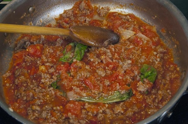 During the simmering process stop now and then and season with some salt and...