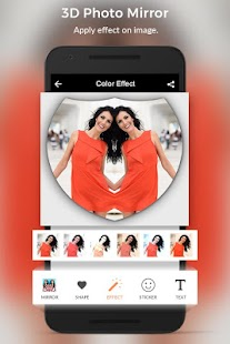 3D Mirror Photo - MirrorPic Editor & Collage Maker - náhled