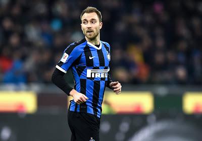 L'Inter Milan prêt à brader Christian Eriksen