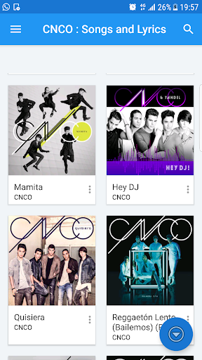 CNCO music & lyrics app