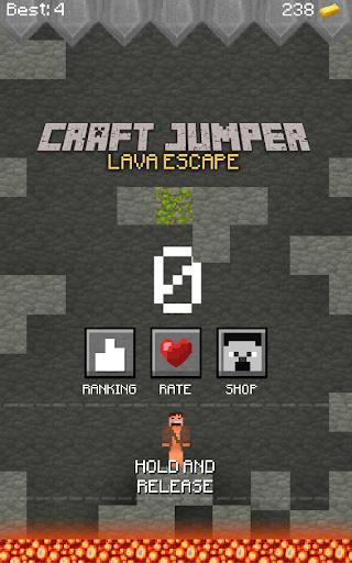 Craft Jumper: Lava Escape