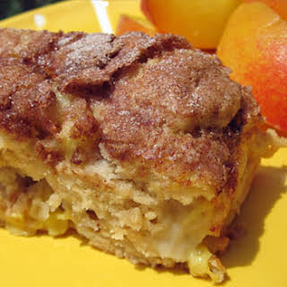 Peach Coffee Cake.
