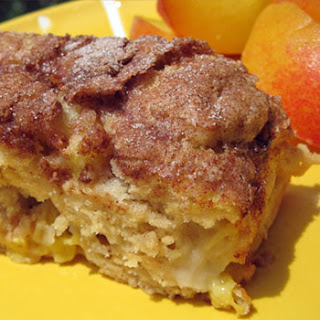 Peach Coffee Cake.