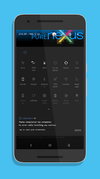 WhiteStone Headers Theme [Substratum] v1.0 [Patched]