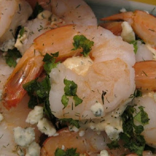 Roquefort-Stuffed Shrimp