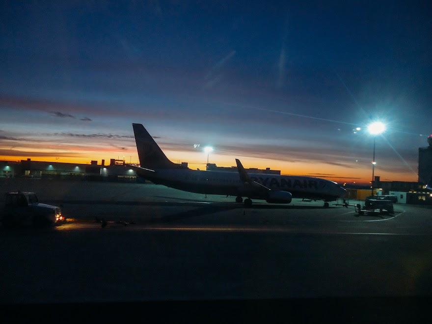 Фото из терминала аэропорта в Франкфурте на Майне