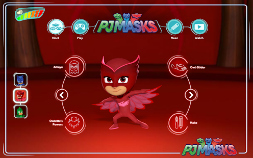 PJ Masks: Web App- screenshot thumbnail