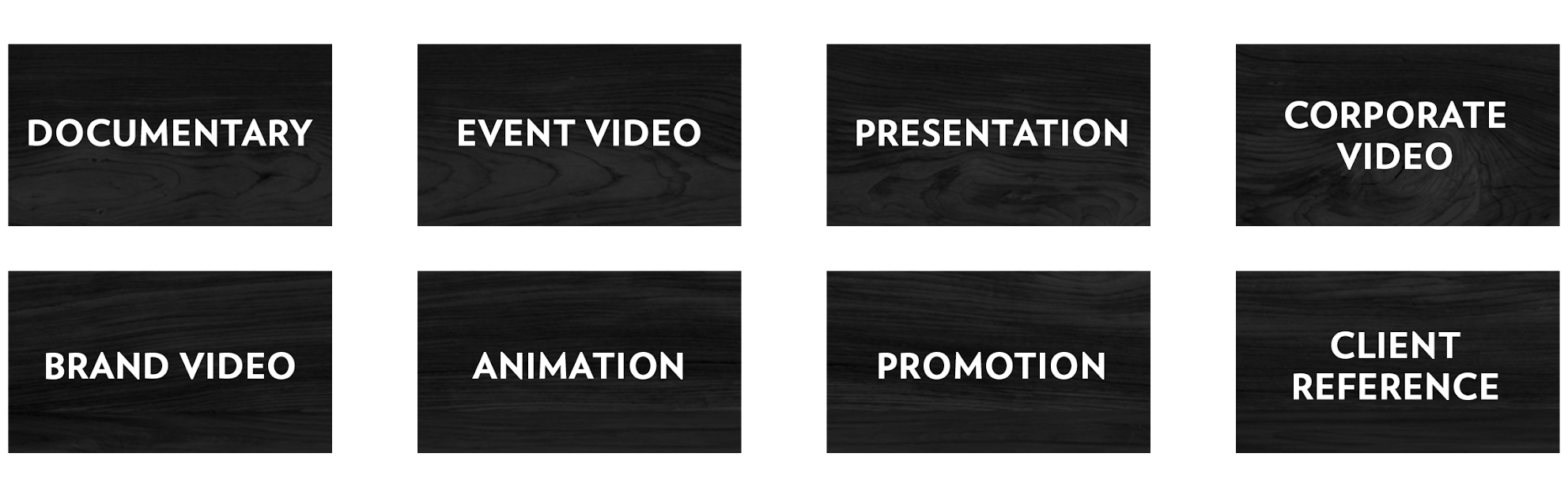 documentary, event video, brand video, animation, presentation, promotional video, corporate video, marketing video, web video