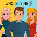 Who is? Brain Teaser & Tricky Riddles icon
