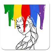 Download Paint Girl Picture APK on PC