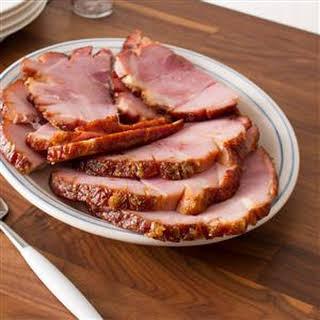 Sugar-Glazed Ham.