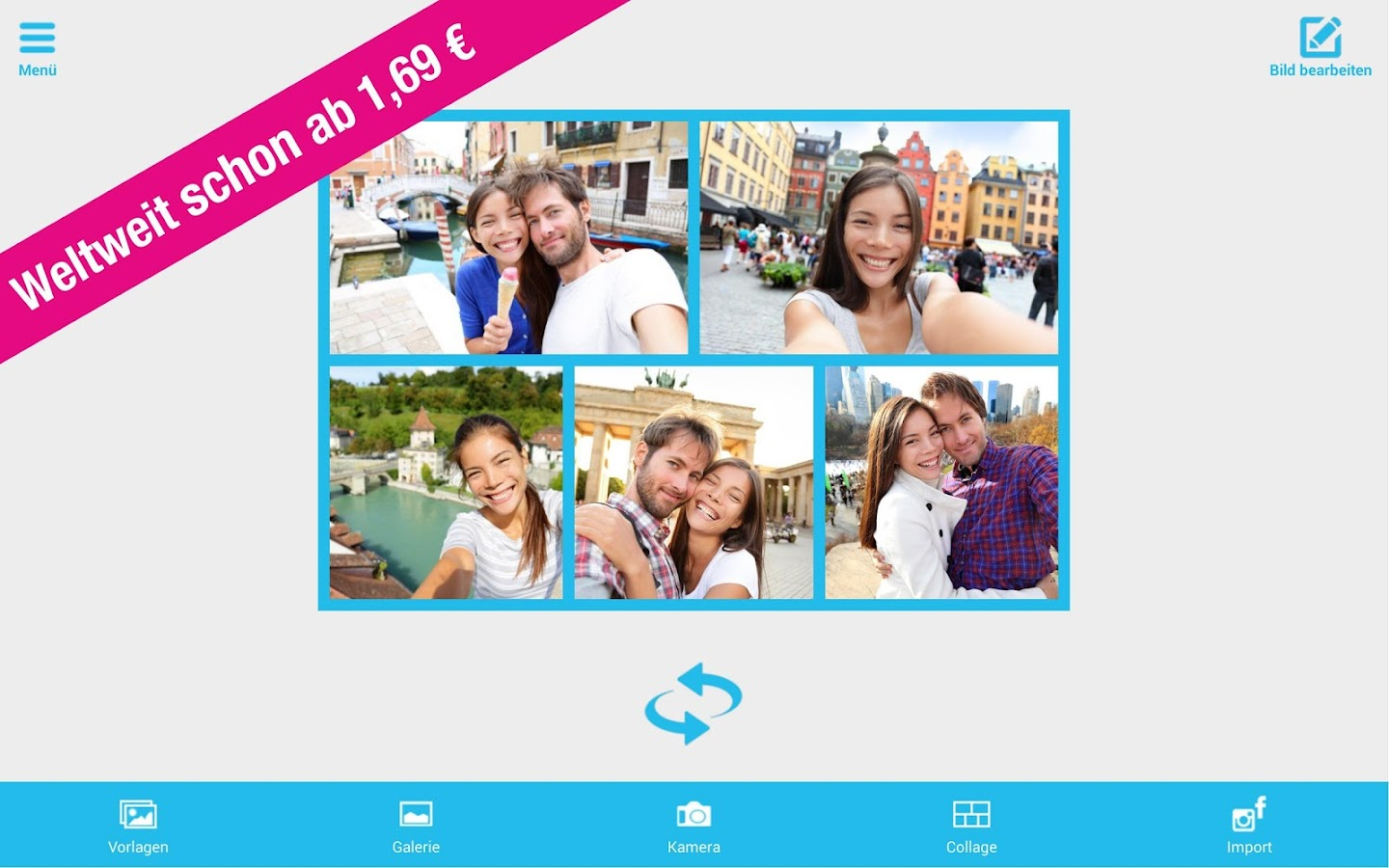 Holiday Postcards-Postcard App- screenshot