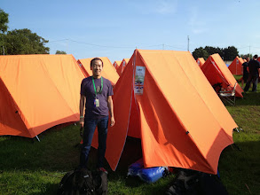 Photo: Our tent!