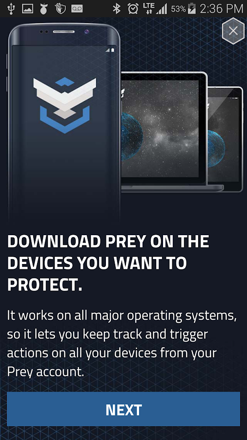 Prey Anti Theft - Mobile Tracking & Security- screenshot