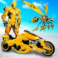 Flying Bee Transform Robot War: Robot Games