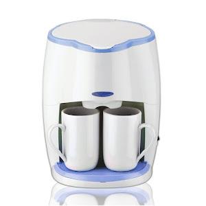 Filtru de cafea cu 2 cesti, SAPIR SP 1170 LS, 450W, filtru detasabil