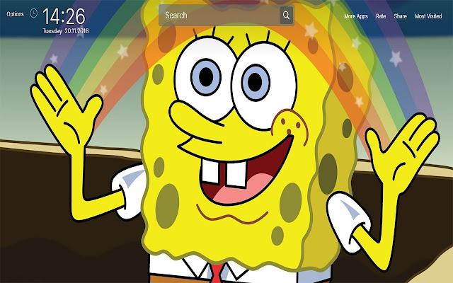 Spongebob Squarepants Wallpapers New Tab