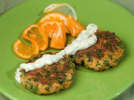Salmon Burgers For Two Recipe