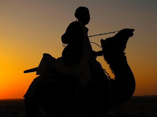 The desert runner di Silvio Lorrai