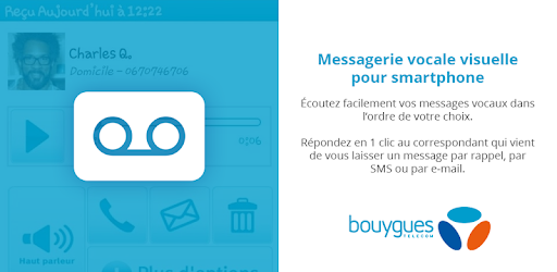 messagerie vocale visuelle bouygues telecom