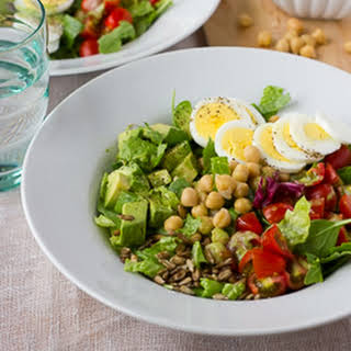 Chopped Power Salad with Creamy Parsley Dressing {Gluten-Free, Dairy-Free}.