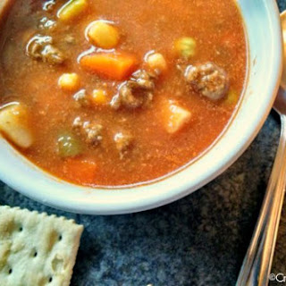 Ground Beef Soup Crock Pot Recipes