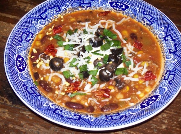 Taco Bean Soup - My Version Recipe