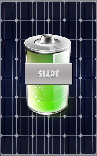 ソーラーバッテリー充電器(いたずら)