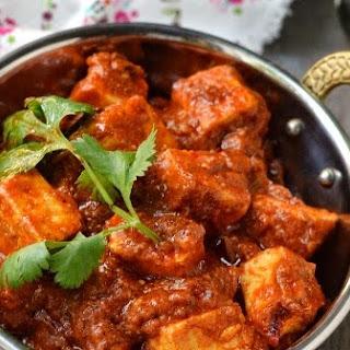 Kashmiri Paneer Tikka Masala (Vegetarian recipe)