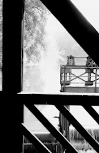 Photo: Stauwehr an der Fils in Göppingen bei Nebel