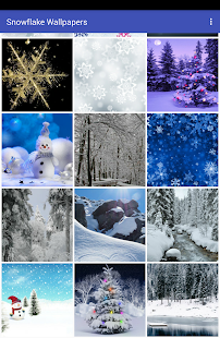 Snowflake Wallpapers - náhled