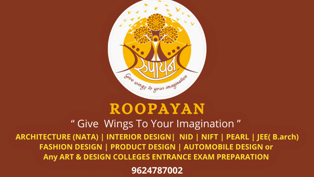 Roopayan Classes For Architecture Nata Exams Nift Nid Art And Design Courses Architecture School In Surat