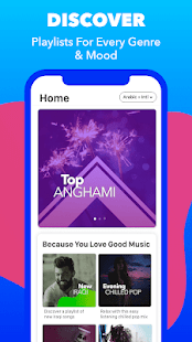 Anghami - Play, discover & download new music Screenshot